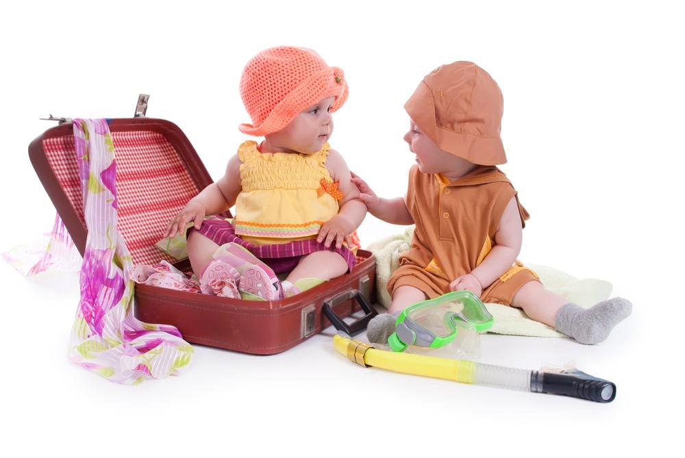 Ne rien oublier dans la valise de bébé