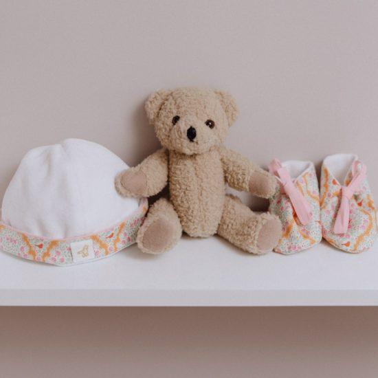 des nitions sans couture pour le plus grand confort de bébé et un intérieur doublé en velours de coton.