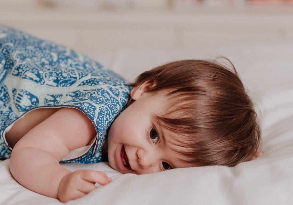 Gigoteuse bébé en coton pour l'été La Cigogne de Lily