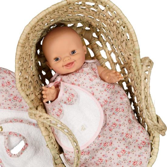turbulette poupon ou gigoteuse poupée en coton
